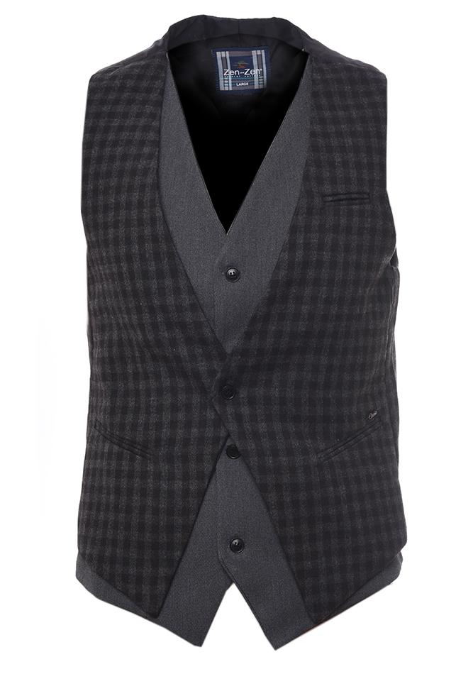 Ανδρικό Γιλέκο Low D.Grey αρχική ανδρικά ρούχα