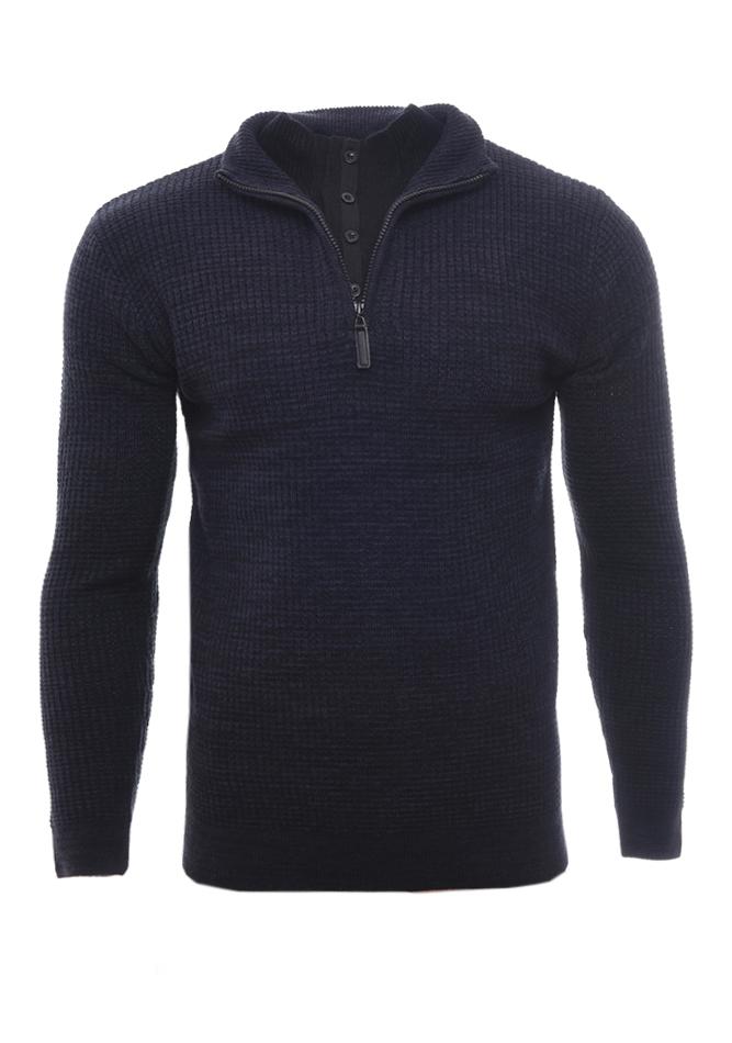 Ανδρική Πλεκτή Μπλούζα Restricted D.Blue αρχική ανδρικά ρούχα επιλογή ανά προϊόν πλεκτά