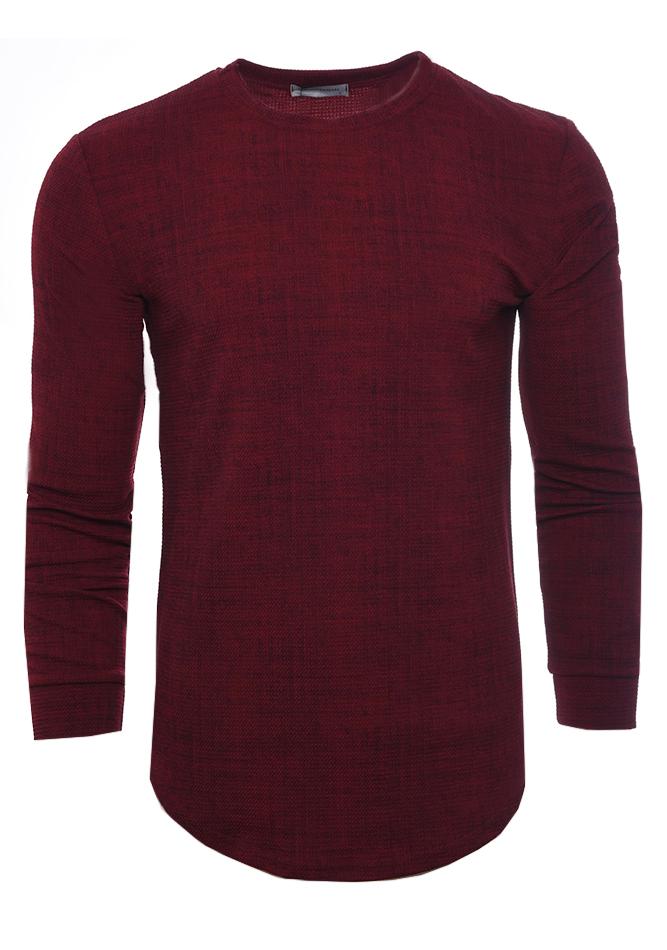 Ανδρική Μπλούζα Candle Bordeaux αρχική ανδρικά ρούχα επιλογή ανά προϊόν μπλούζες