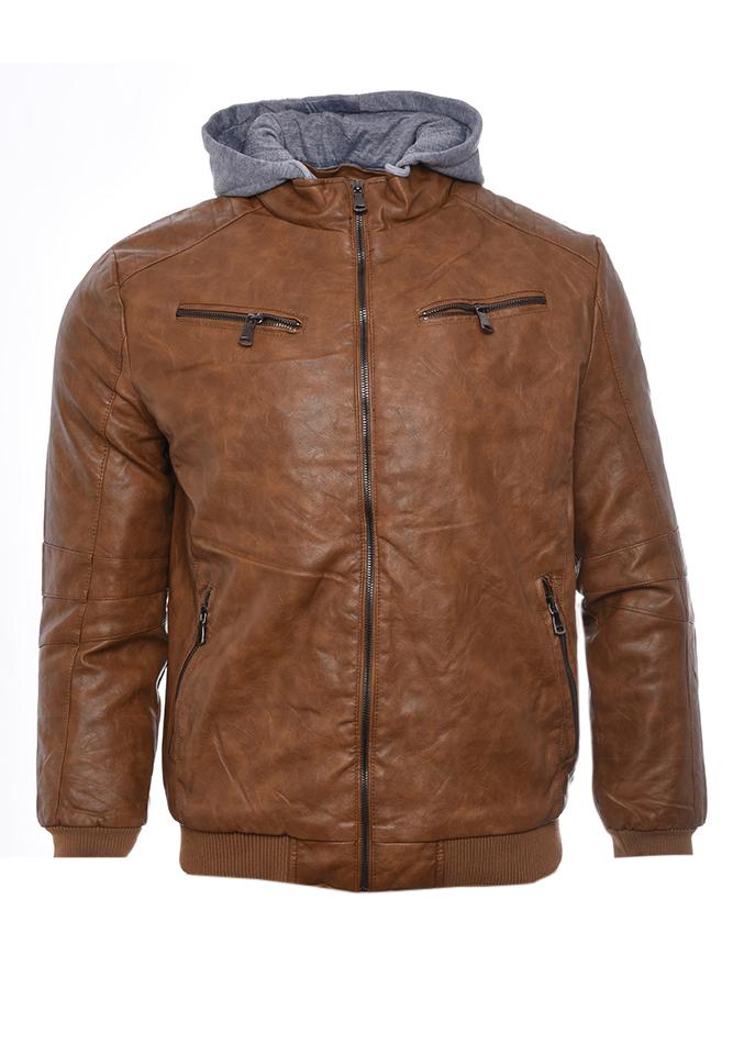 Ανδρικό Μπουφάν Δερματίνη Toe αρχική ανδρικά ρούχα επιλογή ανά προϊόν μπουφάν