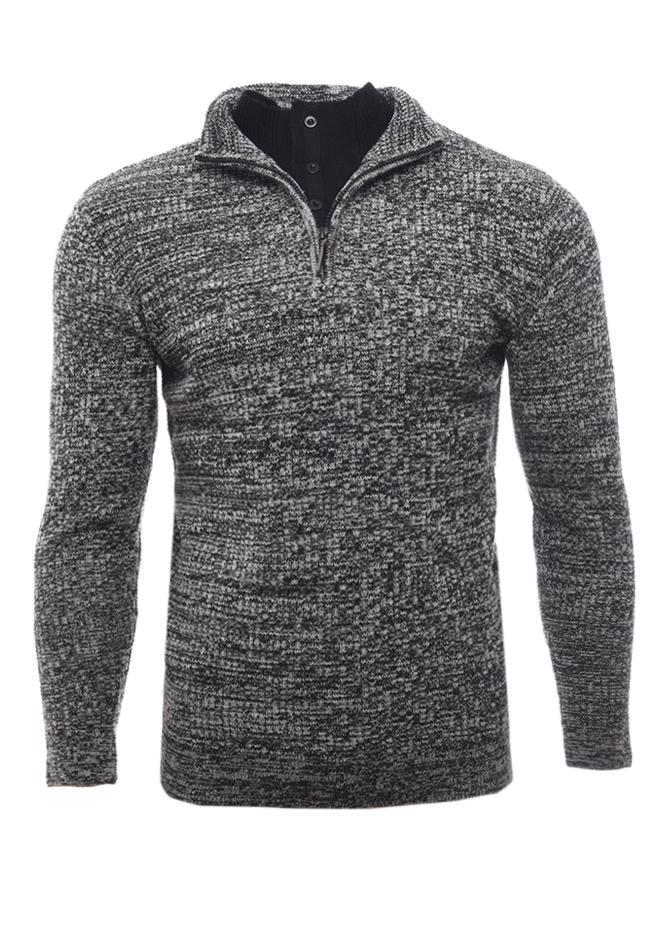 Ανδρική Πλεκτή Μπλούζα Restricted Grey αρχική ανδρικά ρούχα επιλογή ανά προϊόν πλεκτά