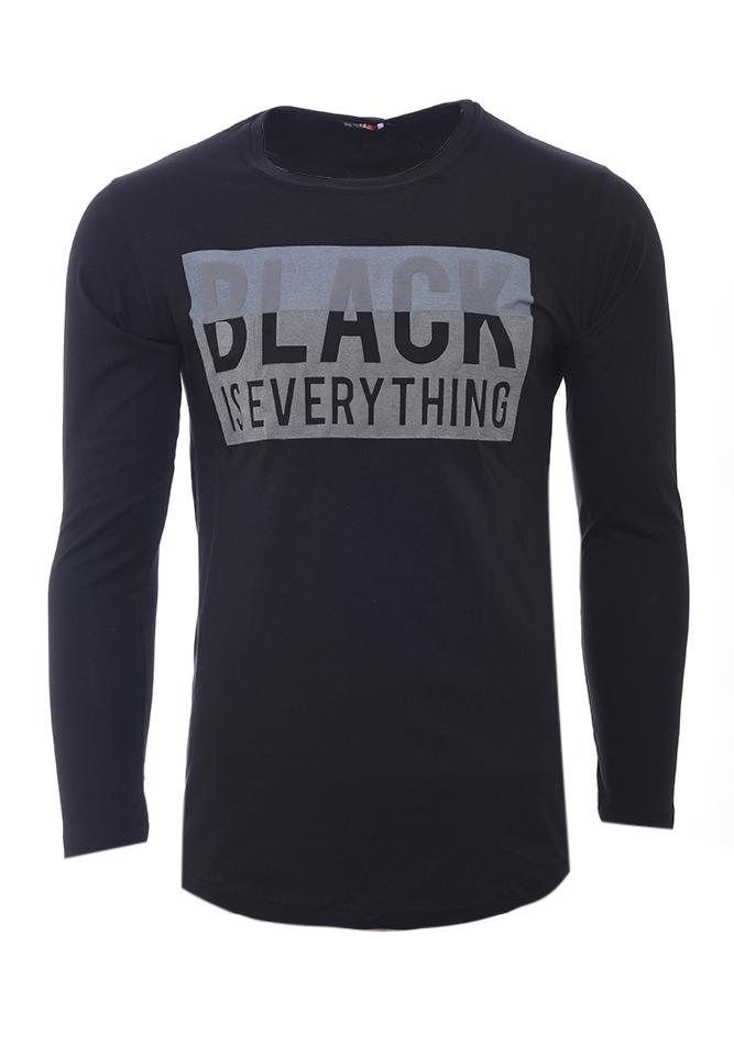 Ανδρική Μπλούζα Everything Black αρχική ανδρικά ρούχα