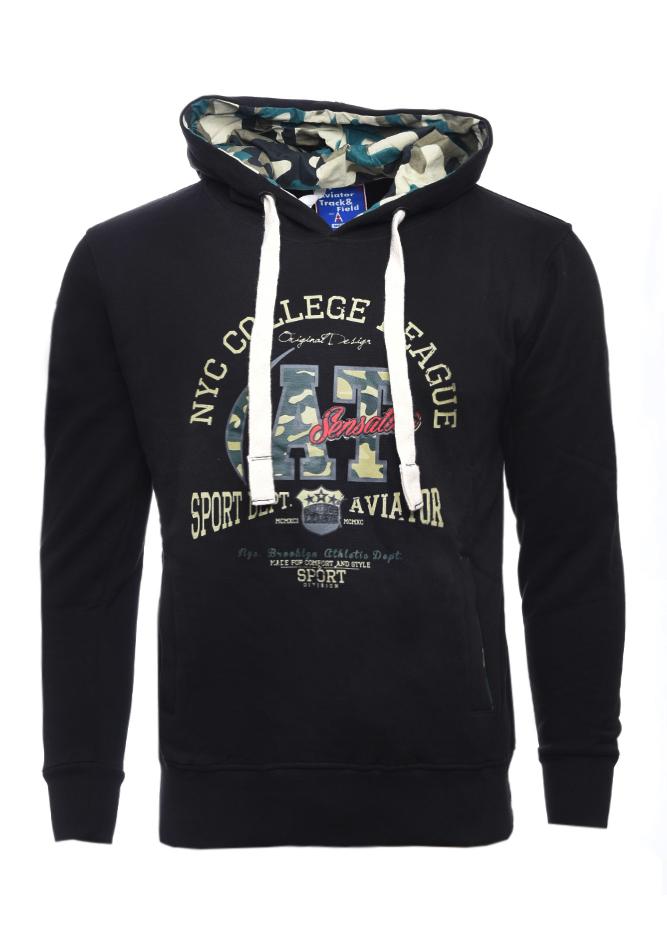 Ανδρικό Φούτερ League Black αρχική ανδρικά ρούχα επιλογή ανά προϊόν φούτερ