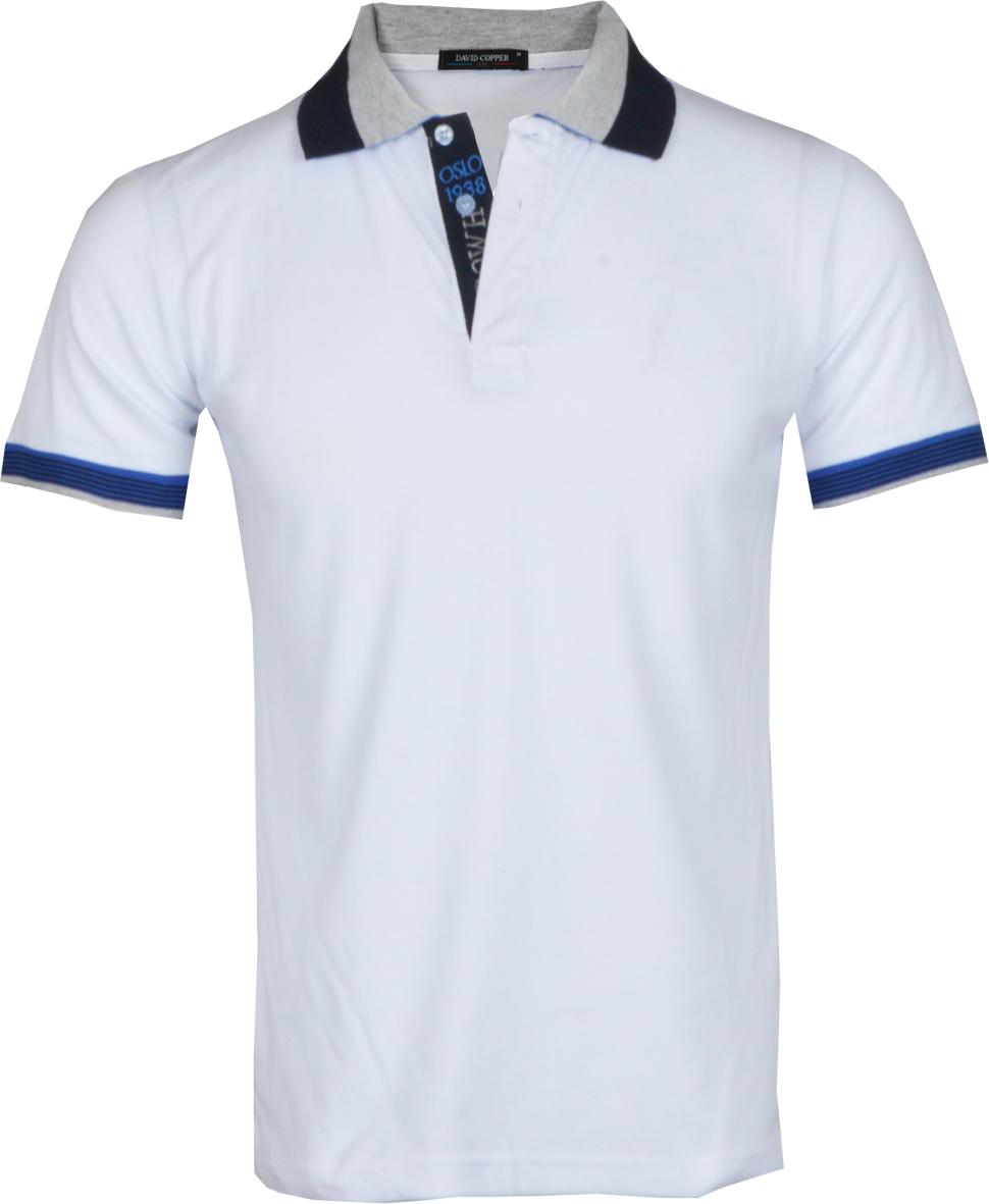 Ανδρικό Polo Cooper-Άσπρο αρχική ανδρικά ρούχα polo