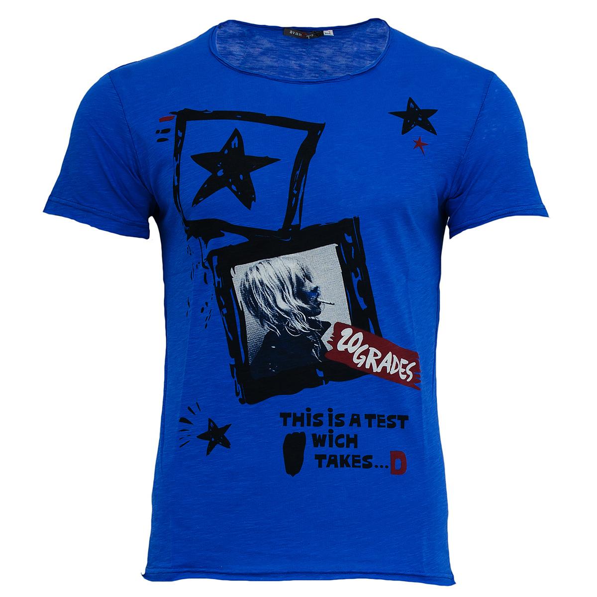 Aνδρικό Τ-shirt 20 Grades-Μπλε αρχική ανδρικά ρούχα μπουφάν