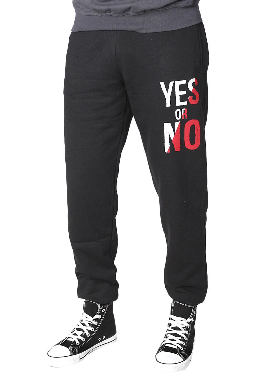 Ανδρική Φόρμα Yes or No-Μαύρο αρχική ανδρικά ρούχα φόρμες