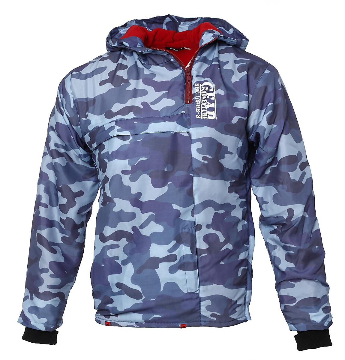 Ανδρικό Μπουφάν Παραλλαγής Army Gear-Μπλε αρχική ανδρικά ρούχα μπουφάν