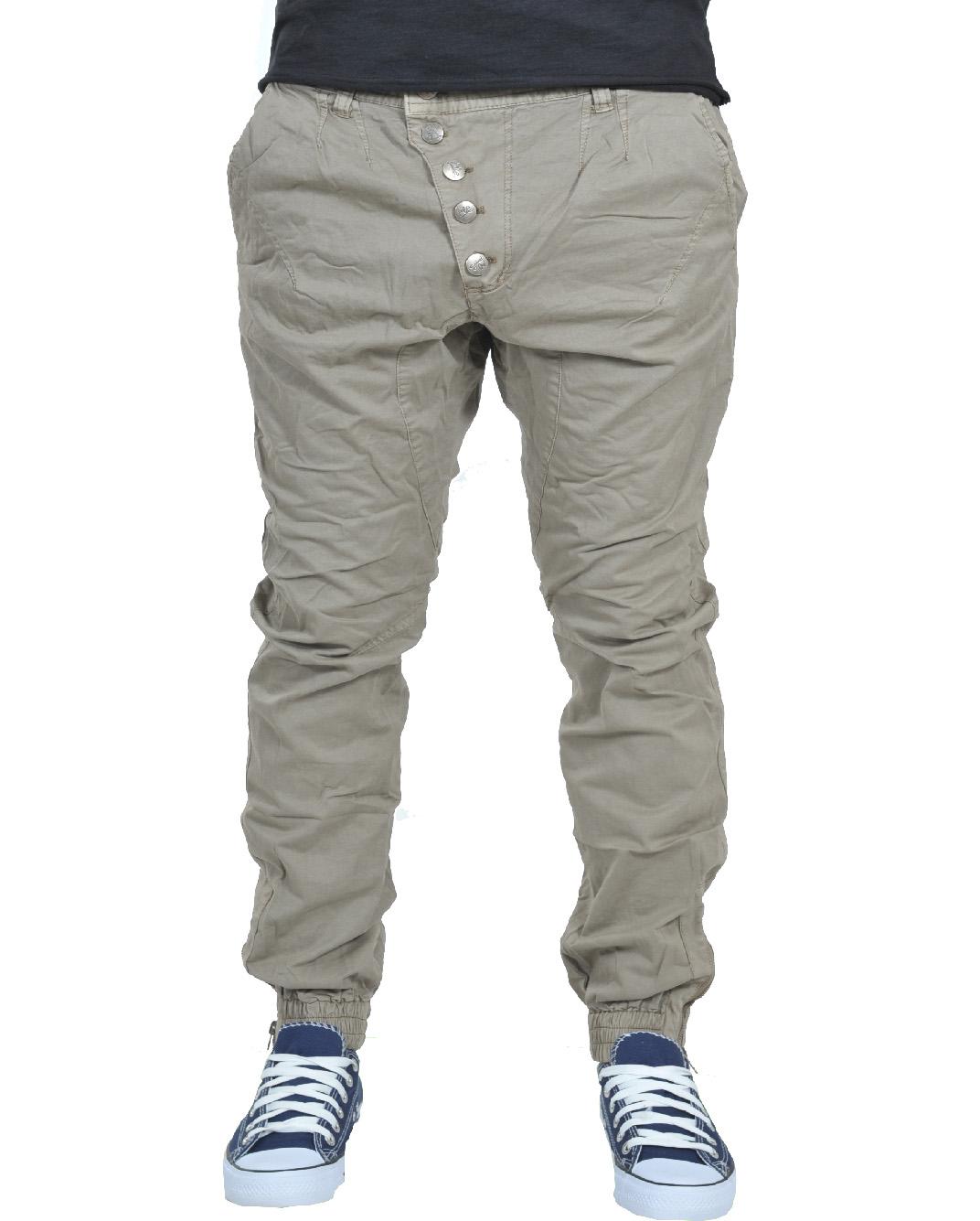 Ανδρικό Chino Παντελόνι Beize Crook Rip-Μπεζ αρχική ανδρικά ρούχα παντελόνια chinos
