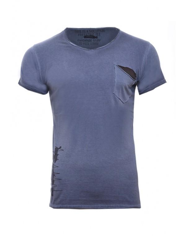 221935d8725a Ανδρικό T-shirt Loose Intigo - be-casual.gr