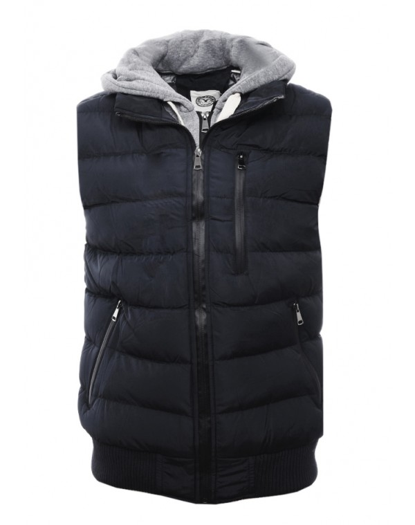 Αμάνικο Μπουφάν Smart Black - be-casual.gr 5956a4423fc
