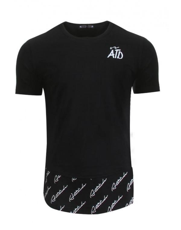 599dd1abb4ce Ανδρικό T-shirt ATD Black - be-casual.gr