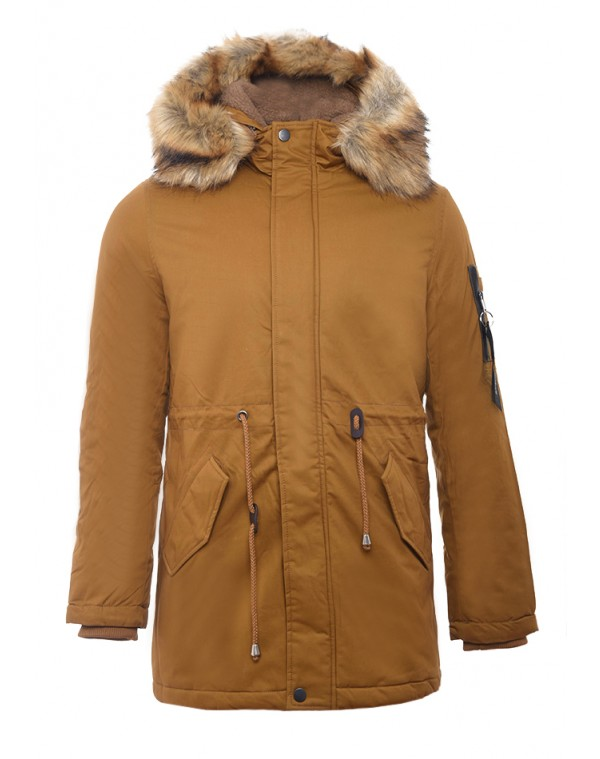 6d795829ba14 Ανδρικό Μπουφάν Parka Enemy Camel - be-casual.gr