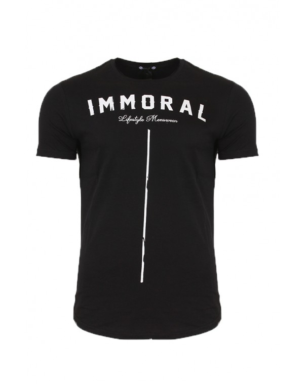 Ανδρικό T-shirt Immoral Black