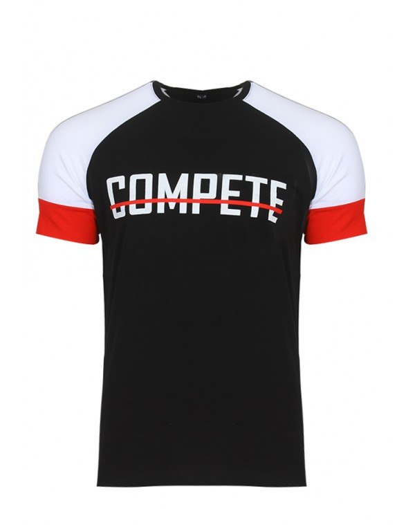 Ανδρικό T-shirt Comp Black