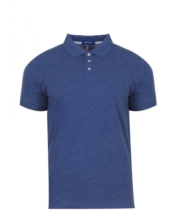 3193a99e327 Ανδρικό Polo Safe Blue - be-casual.gr