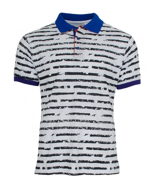 f3d3ee114520 Ανδρικό Polo Zen Black Stripes - be-casual.gr