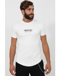 Ανδρικό T-shirt Finish White