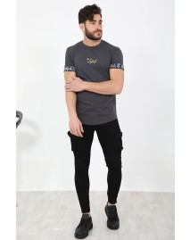 Ανδρικό T-shirt Catch D.Grey