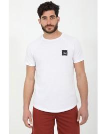 Ανδρικό T-shirt Crunch White