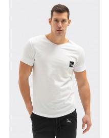 Ανδρικό T-Shirt Crew Neck White