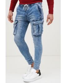 Ανδρικό Jean Extra Blue