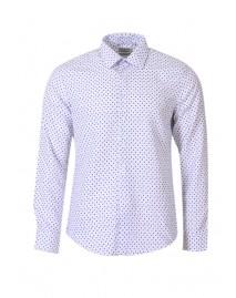 Ανδρικό πουκάμισο Gravel White
