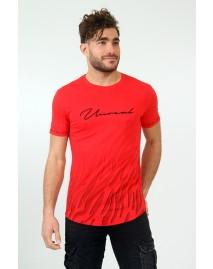 Ανδρικό T-shirt Fire Red