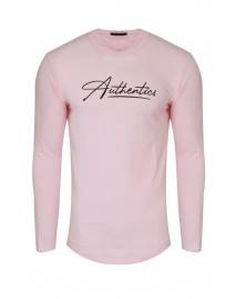 Ανδρική Μπλούζα Authentics Pink