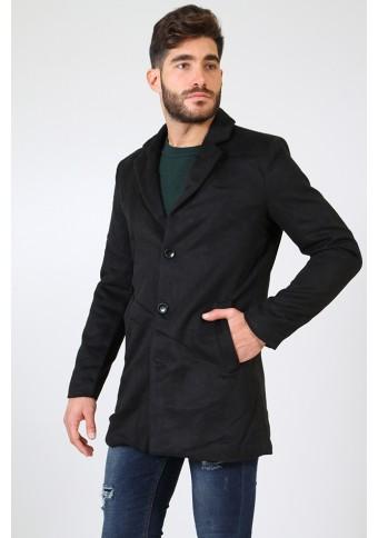 Ανδρικό Παλτό Party Black