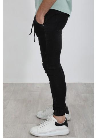 Ανδρικό Jean During Black