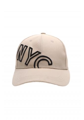 Ανδρικό Καπέλο NYC Beige