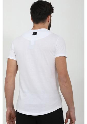 Ανδρικό T-Shirt Less White