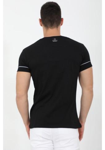 Ανδρικό T-shirt Knock Black