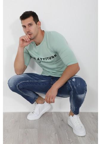 Ανδρικό T-shirt Mine Mint