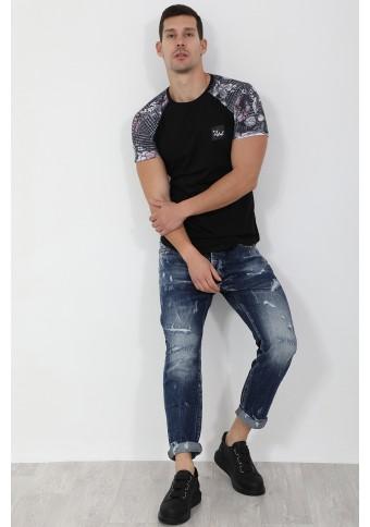 Ανδρικό T-shirt Final Black