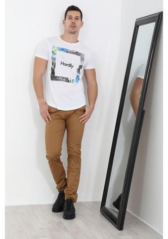 Ανδρικό T-shirt Hardly White