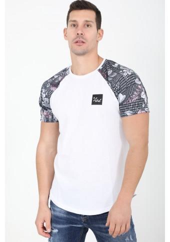 Ανδρικό T-shirt Final White