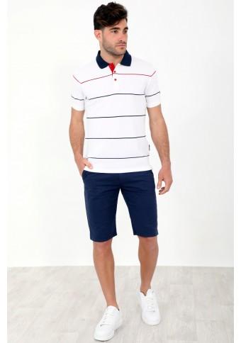 Ανδρικό Polo Item White