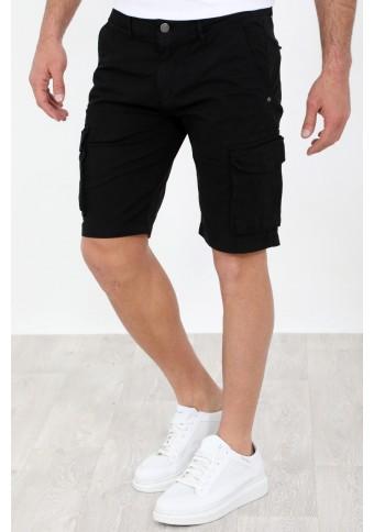 Ανδρική Βερμούδα Suit Black