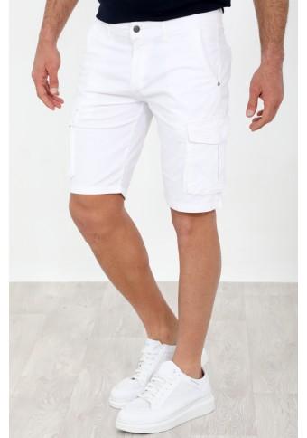 Ανδρική Βερμούδα Suit White
