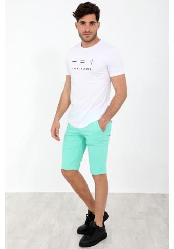 Ανδρική Βερμούδα Perhaps Green