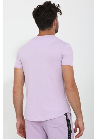 Ανδρικό T-shirt Fine Lila