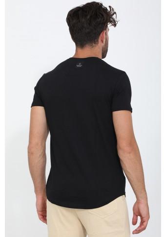Ανδρικό T-shirt Just Black
