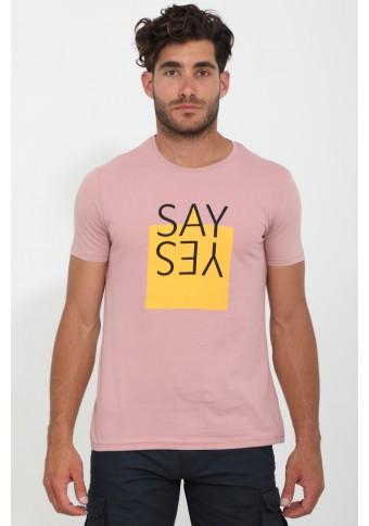 Ανδρικό T-shirt Say Rotter Apple