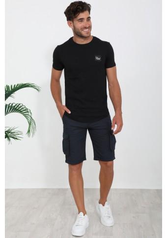 Ανδρικό T-shirt Vie Black