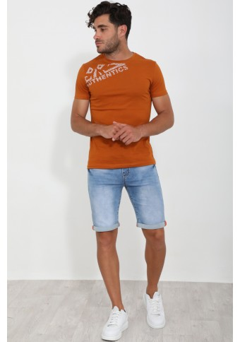 Ανδρικό T-shirt Date Cinnamon