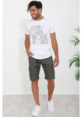Ανδρικό T-shirt Just White
