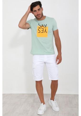 Ανδρικό T-shirt Say Veraman