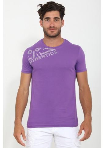 Ανδρικό T-shirt Date Purple
