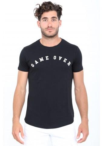 Ανδρικό T-shirt Game Black